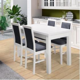 Белый обеденный стол ORION II P - купить в Израиле