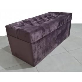 Роскошный пуф FANCY из бархатной ткани