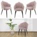 Бархатный стул в стиле розового бархата, модель OLDI купить в Израиле