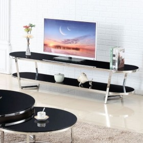 MICHAL 200x45- телевизионная тумба из стекла