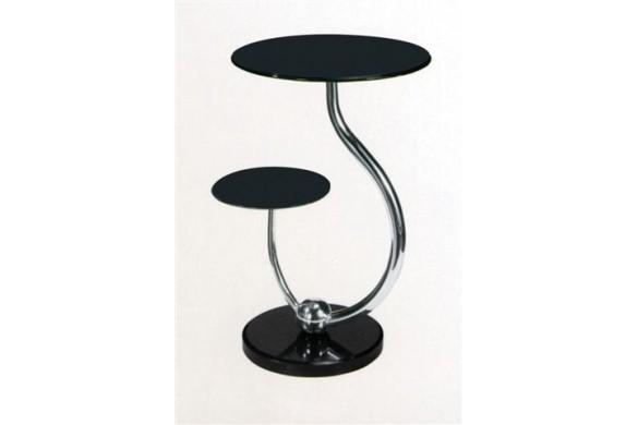 Приставной столик 409 черный купить в Израиле с доставкой на дом