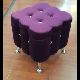 Пуф фиолетового цвета - купить в Израиле