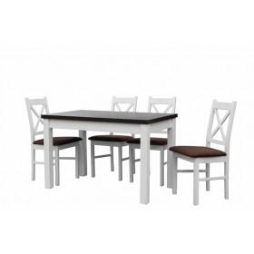 Обеденный стол MAX V белый