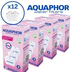 Фильтры для воды AQUAPHOR MAXFOR (комплект из 12 штук)