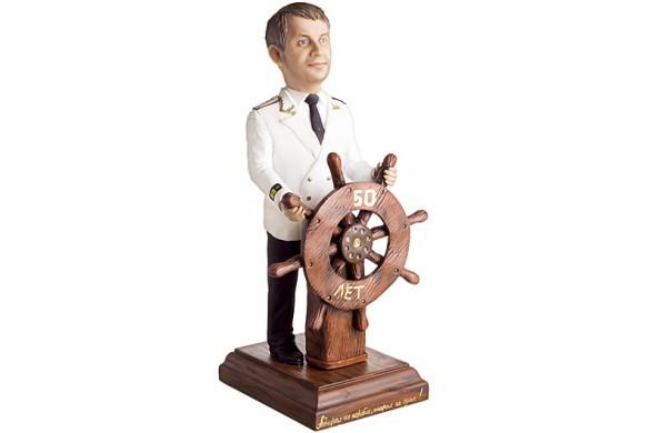 Подарок для мужчины «Наш герой на суше и на море» 30 см