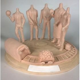 Изготовление художественных мастер-моделей для литья любой сложности