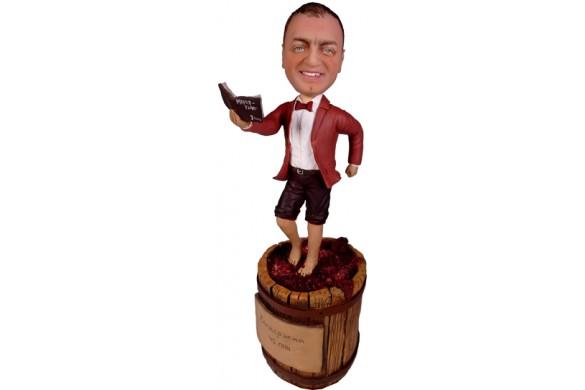 Подарок виноделу «Веселая бочка»