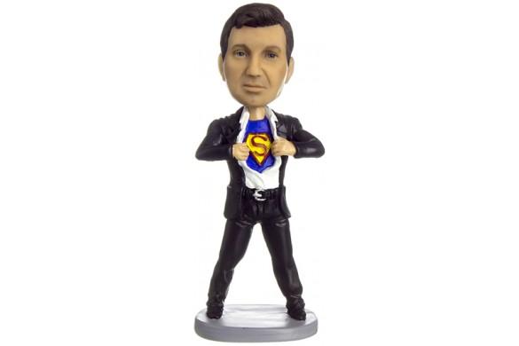 """מתנה לגברים """"סופרמן במעיל"""""""