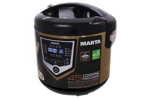 Мультиварка MARTA MT-4301 черный/золот