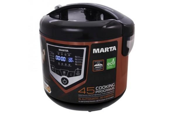 Мультиварка MARTA MT-4301 черный/красный